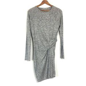 Athleta Solitude Long Sleeve Midi Dress